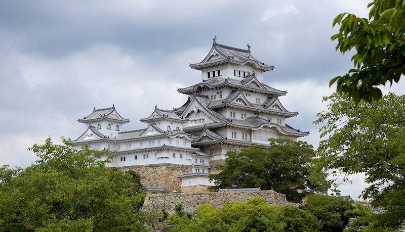 Старейший замок Химедзи, Япония