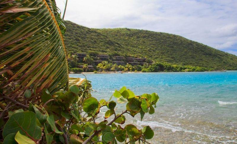 Фото опасного острова Саба