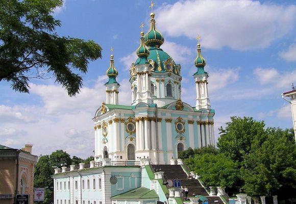 Андреевская церковь, фото красивых храмов мира