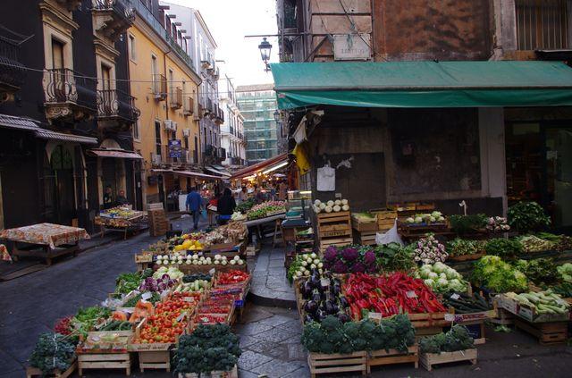 Рынок на Сицилии