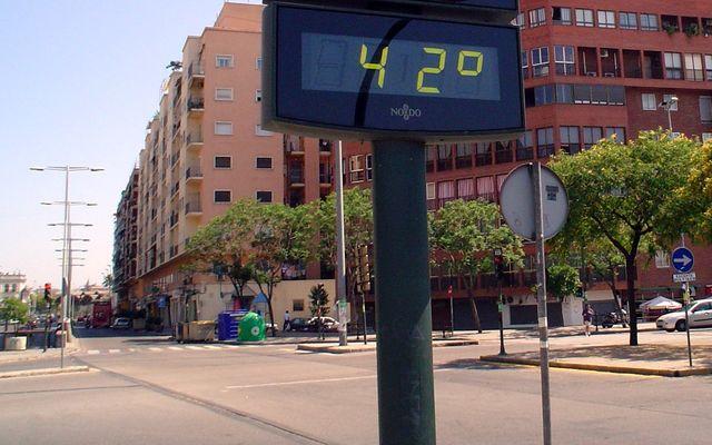 Невыносимая жара
