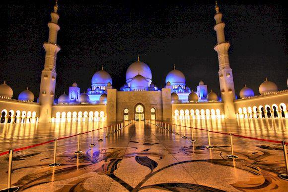 Мечеть шейха Зайда, храмы мира, фото с названиями