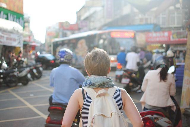 Туристка