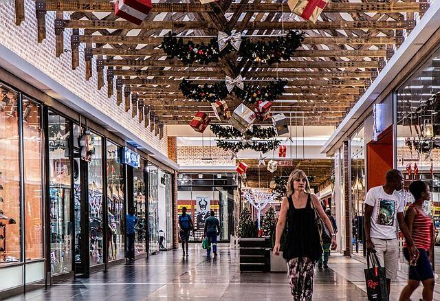 Торговый центр в странах для шоппинга