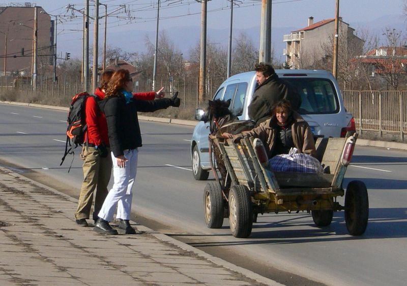 Путешественники без денег