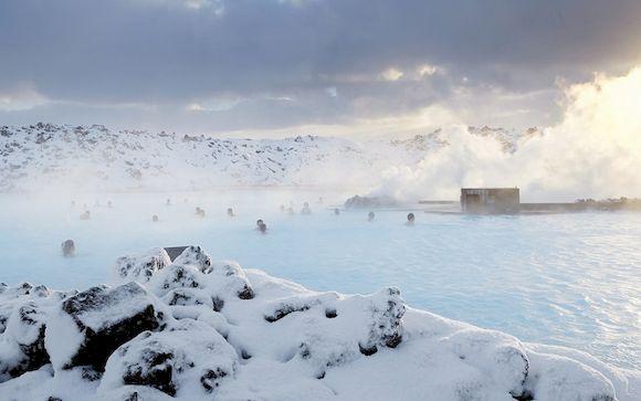 Горячий источник Голубая лагуна, Исландия, фото