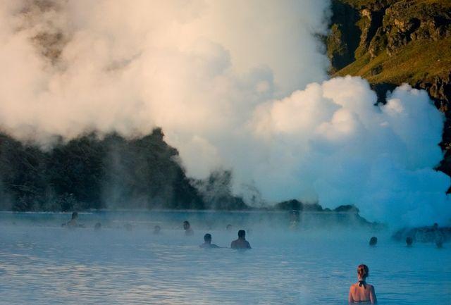 Голубая лагуна, Исландия, фото