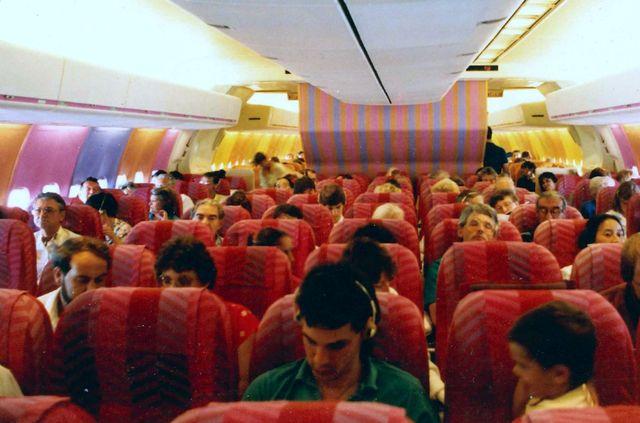 Салон чартерного самолета
