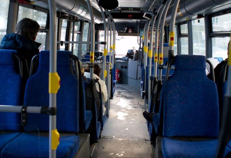 Безопасные места в автобусе