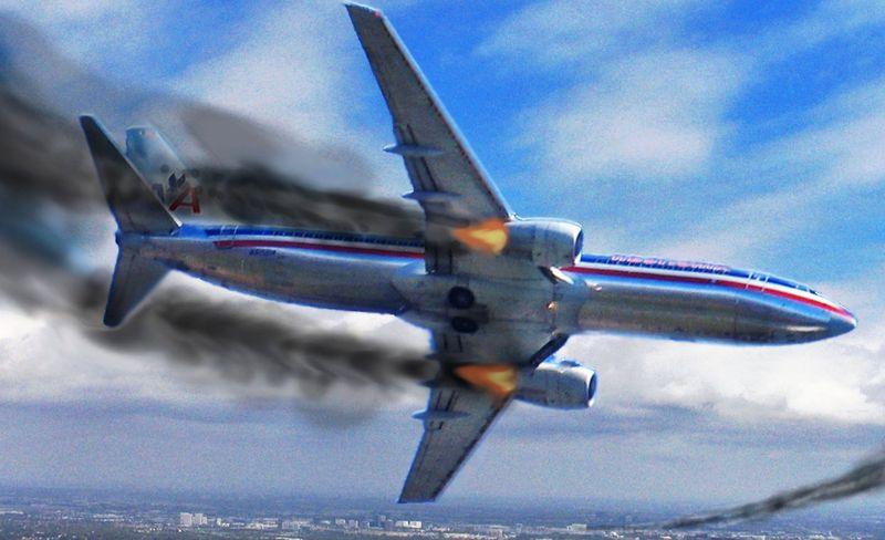 Авария самолёта
