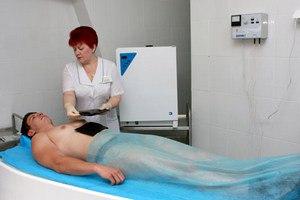 Лечение грязями в санатории