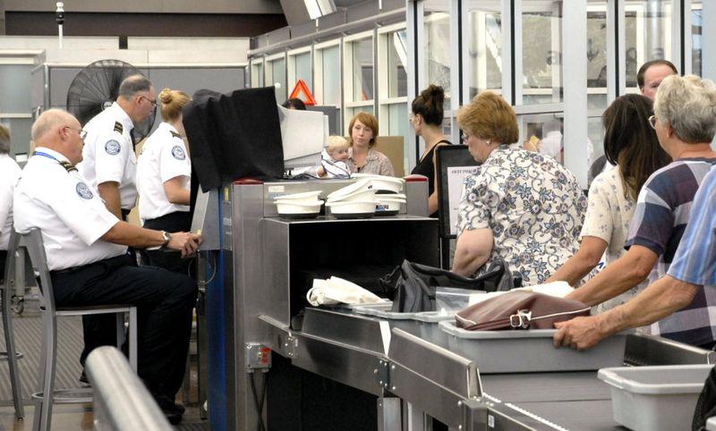 Контроль безопасности в аэропорту