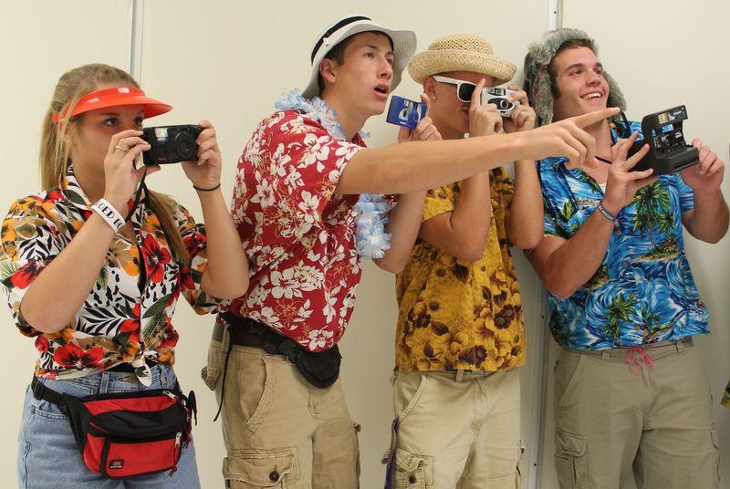 Типичные туристы