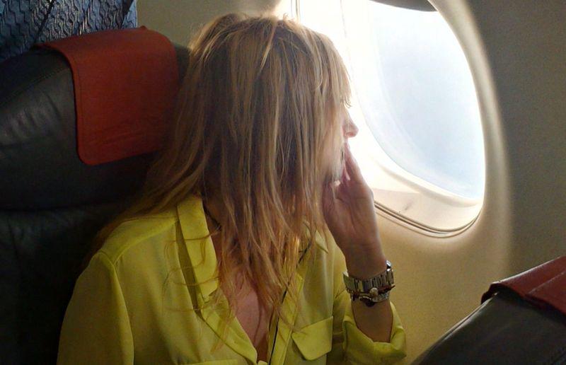 Плохое самочувствие в самолёте