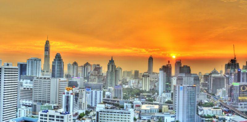 Бангкок - один из самых жарких городов мира