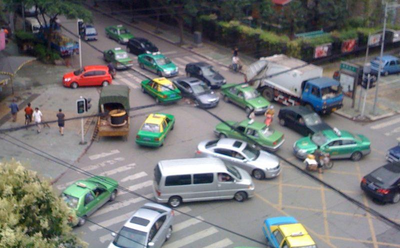 Дорожное движение в Азии