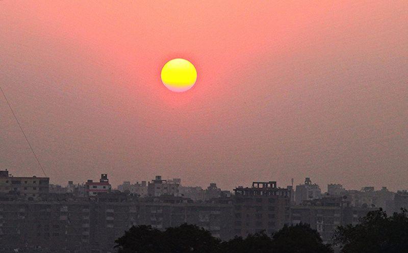 Каир - один из самых жарких городов мира