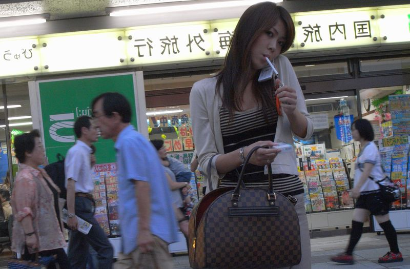 Курение в Японии