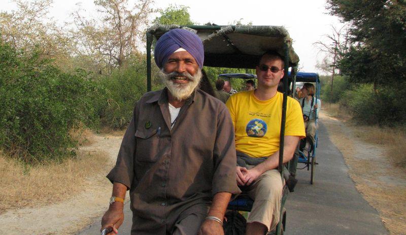 Рикша, путешествие по Азии