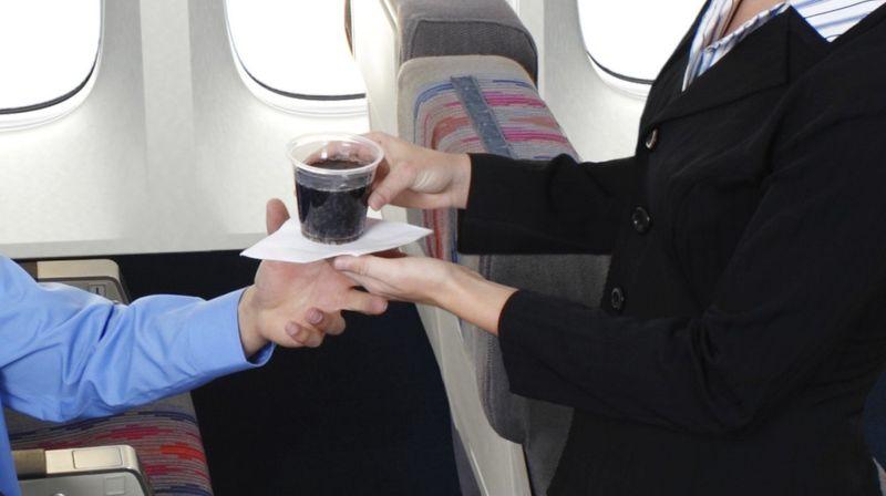 Алкоголь в самолёте