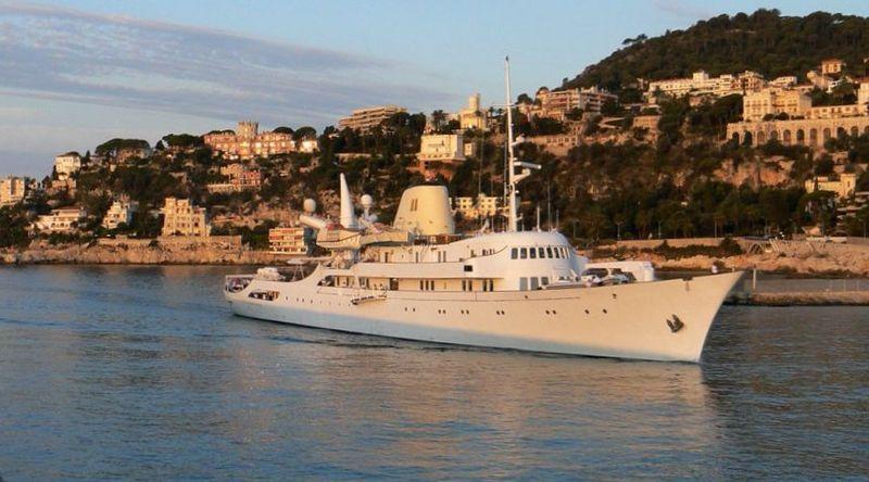 Kristina_O - одна из лучших яхт для кругосветного путешествия