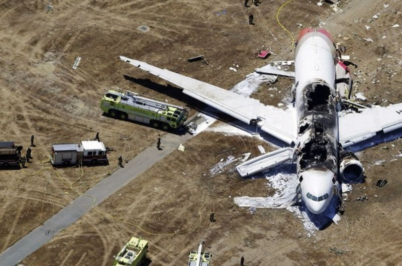 Статистика падений самолётов