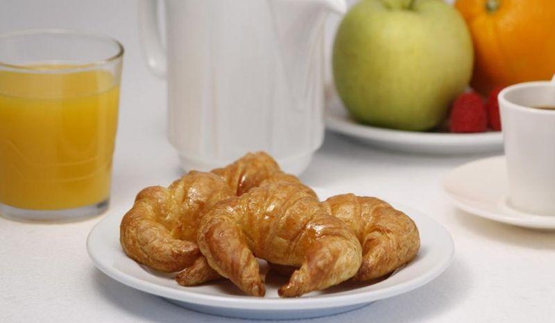 Континентальный завтрак в отеле