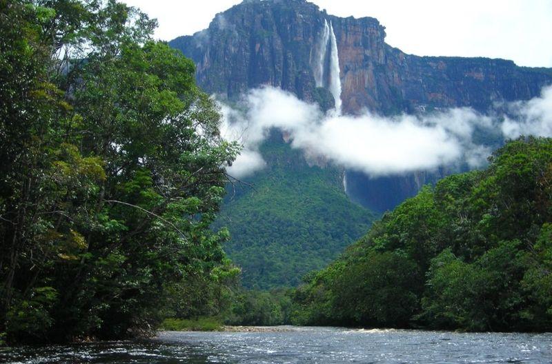 Водопад Анхель, самый высокий в мире