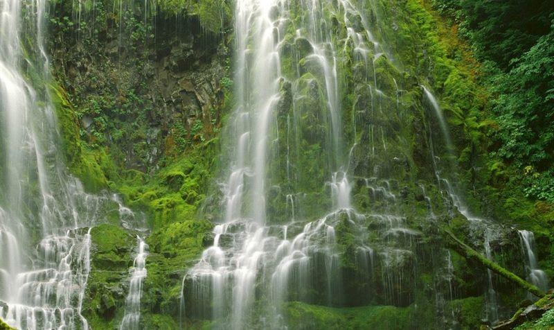 Водопад Три сестры, один из самых высоких в мире