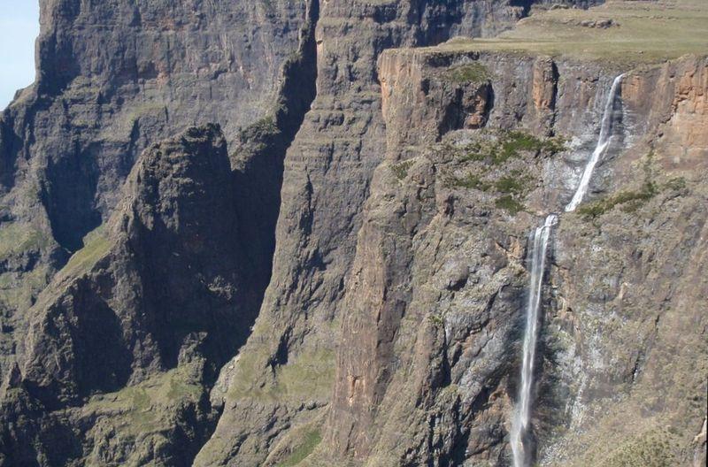 Водопад Тугела, один из самых высоких в мире