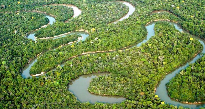 Амазонка, самая длинная река в мире
