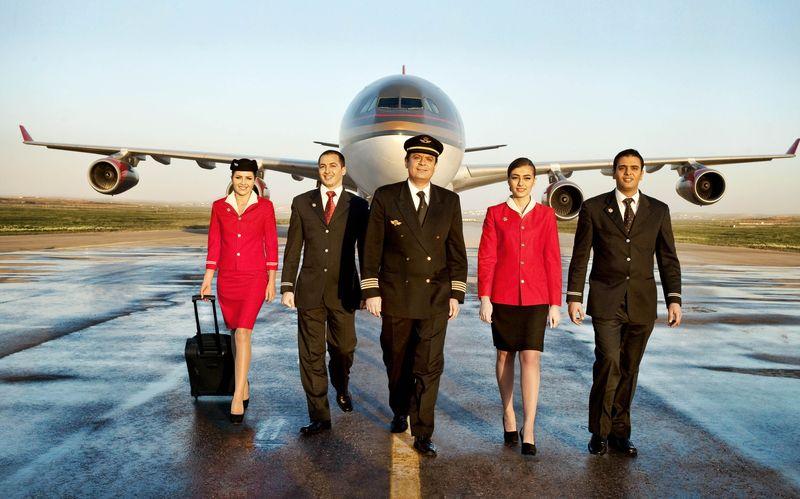 Экипаж самолета