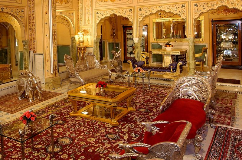 Raj Palace, Индия, самые дорогие отели, фото