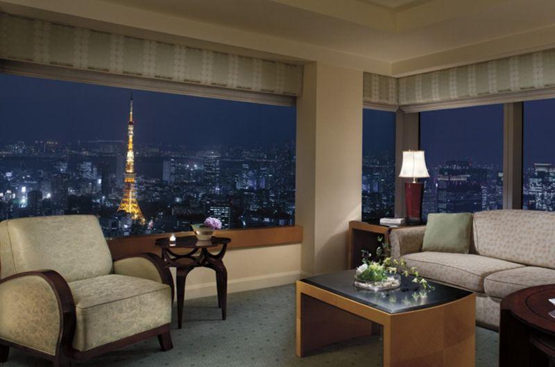 Ritz-Carlton, Токио - одна из самых дорогих гостиниц мира, фото