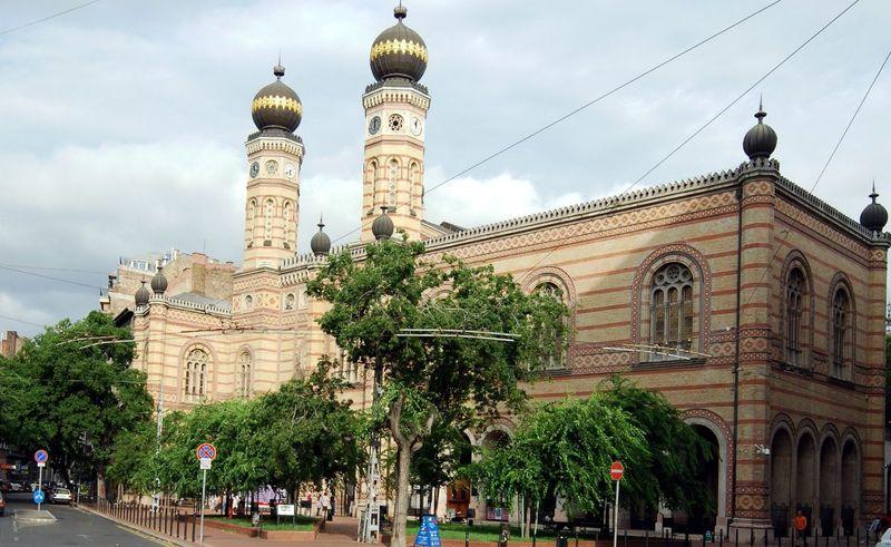 Синагога в Будапеште, фото