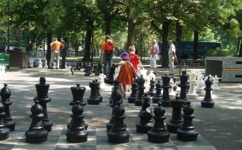 Парк Бастионов в Женеве