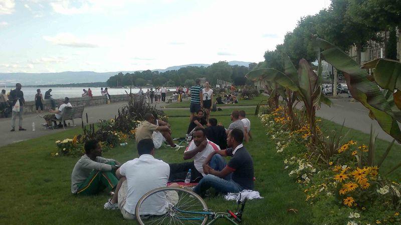 Парк де ла Перл в Женеве