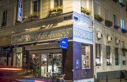 Гостиница Hotel Les Chansonniers в центре Парижа