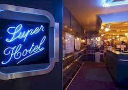 Super Hotel, отель в центре Парижа, фото