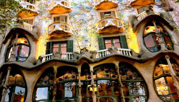 Достопримечательность Барселоны, дом Батло