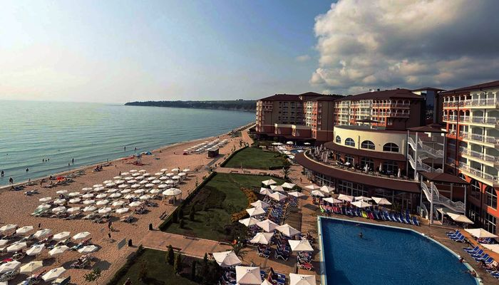 Отели в Болгарии с собственным пляжем и все включено