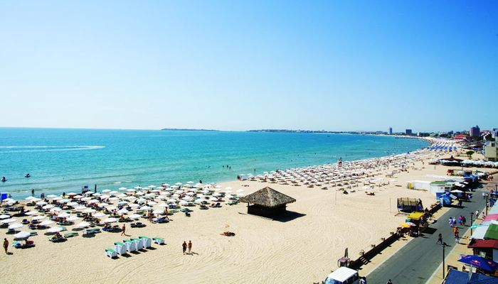 Отель Evrika Beach в Болгарии, с собственным пляжем