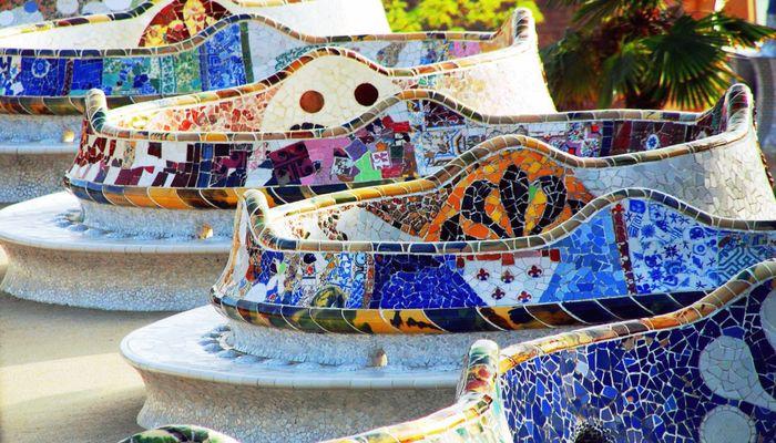 Достопримечательность Барселоны, парк Гуэль