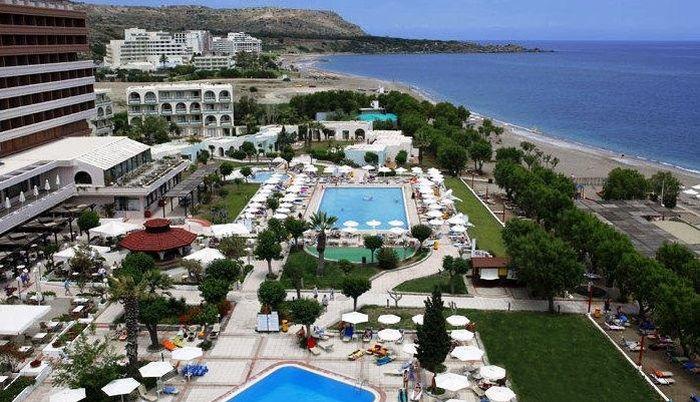 Louis Colossos Beach, отель с собственным пляжем в Греции