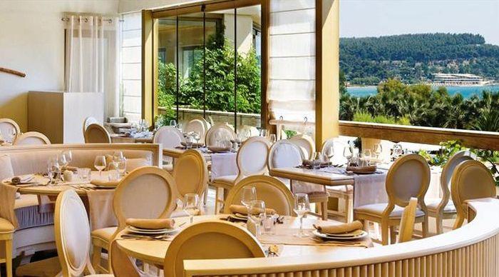 Отель в Греции с собственным пляжем и питанием все включено