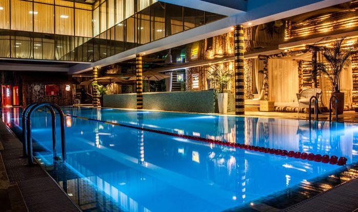 Hotel Geo Spa Novahoff, гостиница с бассейном