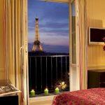 10 отелей Парижа с видом на Эйфелеву башню