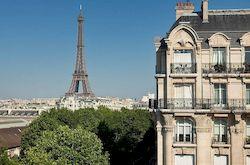 Duquesne Eiffel, бюджетный отель в Париже с видом на Эйфелеву башню