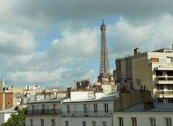 Printania Grenelle Eiffel, недорогой отель с видом на Эйфелеву башню