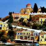 Достопримечательности острова Сими в Греции